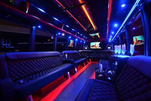 40 passenger party bus rental Tuscaloosa