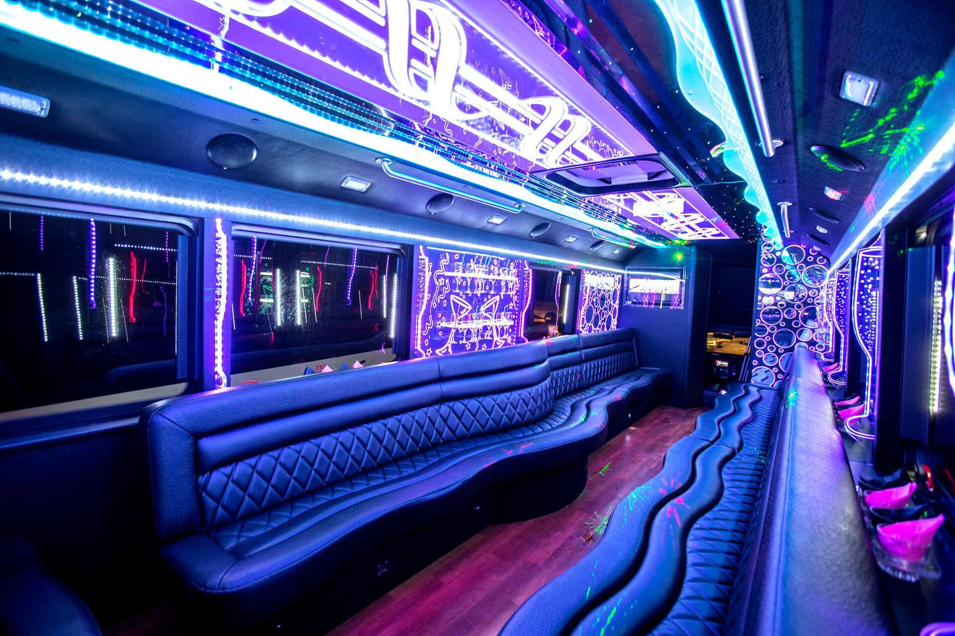 party bus Tuscaloosa Rental